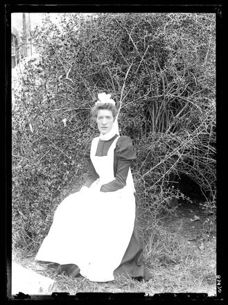 Image: [Portrait of a female assistant Avondale Lunatic Asylum]