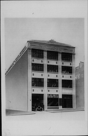 Image: F. E. Jackson & Co. Ltd building. Anzac Ave, exterior, front view.