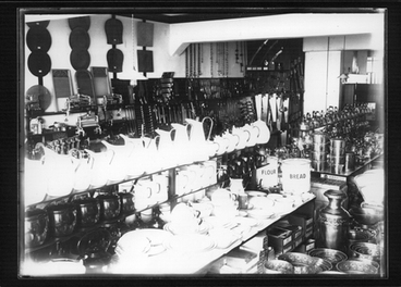 Image: F. E. Jackson & Co.  showroom, interior.