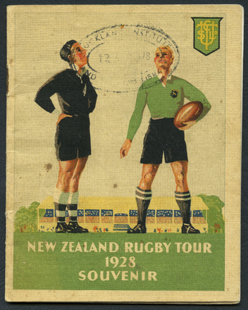 Image: New Zealand Rugby Tour 1928 Souvenir