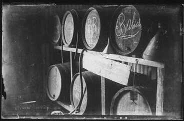 Image: [Wine barrels of the Babich Winery]