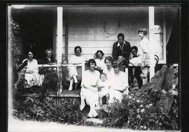 Image: On verandah.