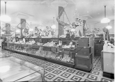 Image: [Christmas decorations at Milne & Choyce]