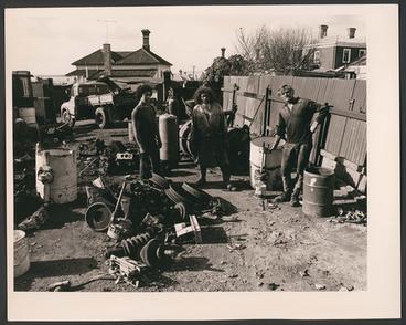 Image: [Peter, Jack and Frank, Ponsonby Scrapemetals, Ponsonby Road]