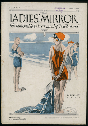 Image: The Ladies' mirror : the fashionable ladies' journal of New Zealand