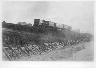 Image: Train in the line poss. Mechanics Bay