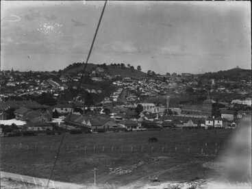 Image: View from Domain towards Mt. Hobson