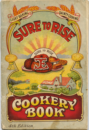 """Image: The """"Sure to rise"""" cookery book : is especially compiled and contains useful everyday recipes, also  cooking hints"""
