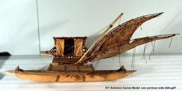 Image: canoe model