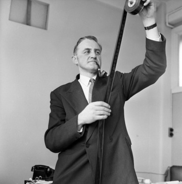 Image: Gordon Holden Mirams, Chief Censor and Registrar of Films, 1956
