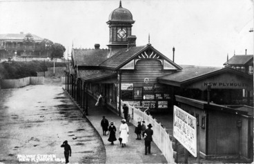 Image: New Plymouth Railway Station