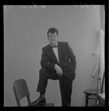 Image: Johnny Devlin, rock singer