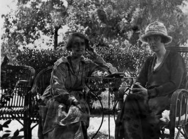 Image: Dorothy Brett and Katherine Mansfield