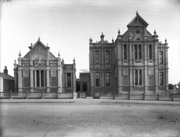 Image: Leys Institute gymnasium and library, Ponsonby, Auckland