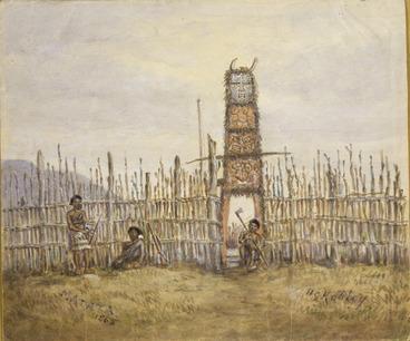 Image: Robley, Horatio Gordon 1840-1930 :Matata. October 1865.