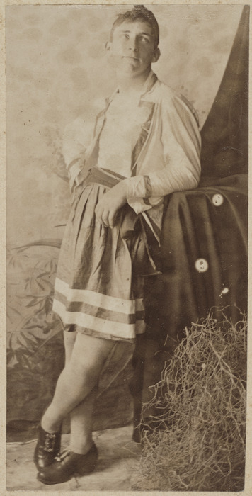 Image: Young man dressed as a pirate
