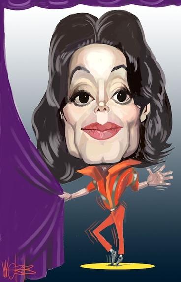 Image: Michael Jackson. 27 June 2009