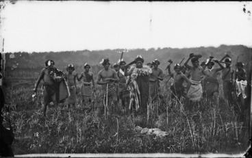 Image: Ngati Whatua group at Kaipara