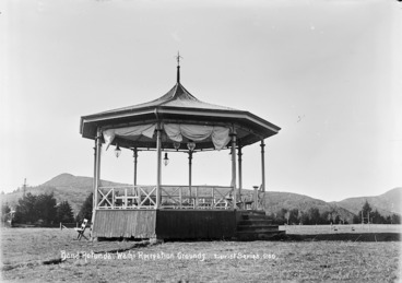 Image: Band rotunda, Wahi Recreation Grounds