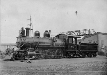Image: Steam locomotive 453, N class, built by Baldwin