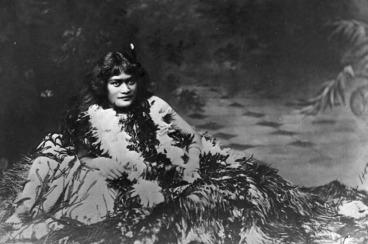 Image: Princess Te Kirihaehae Te Puea Herangi as a girl