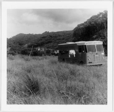 Image: National Library Bookvan encampment