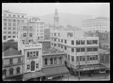 Image: Lambton Quay - Wellington Streets