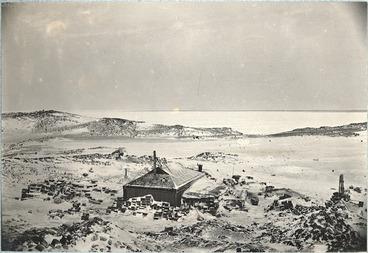 Image: Shackleton's hut at Cape Royds, Ross Island, Antarctica