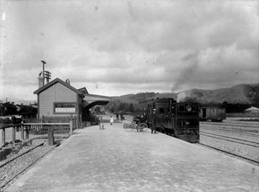 Image: Upper Hutt Railway Station