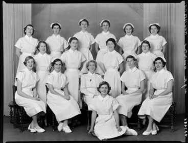 Image: Nurses, Wellington Hospital