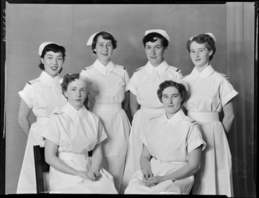 Image: Nurses, Wellington Hospital, state
