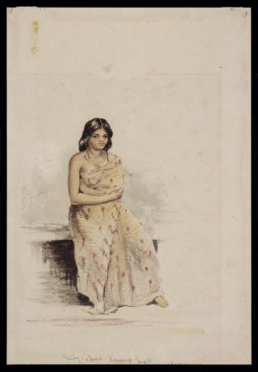 Image: Oliver, Richard Aldworth, 1811-1889 :Emily - a Maori. Nauranga, Jany [18]51