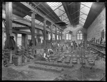 Image: Foundry at the firm of P & D Duncan, Christchurch