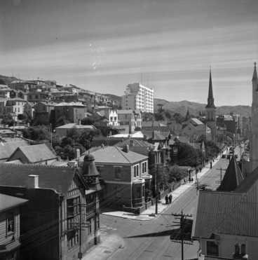 Image: Willis St, Wellington