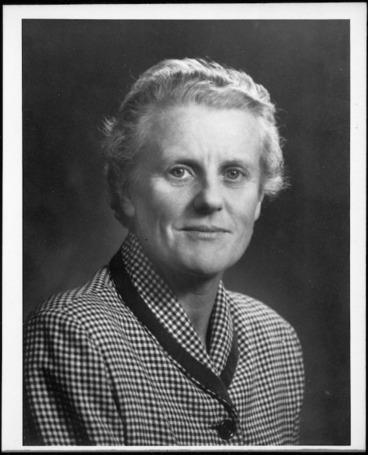 Image: Wood, Gilbert Antony, 1936- :Photograph of Joan Myrtle Wood, 1909-1990
