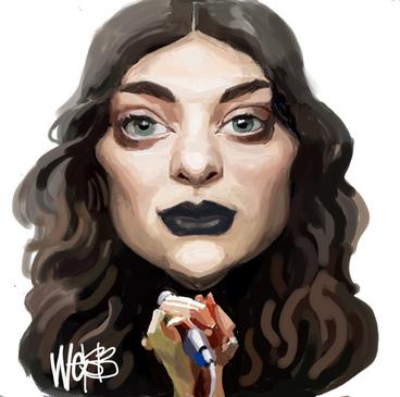 Image: Webb, Murray, 1947- :Lorde. 16 September 2013