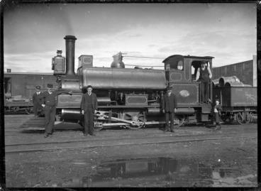 Image: F Class locomotive, NZR 223, 0-6-0T