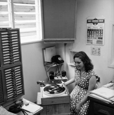 Image: HMV record factory