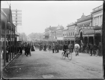 Image: Devon Street, New Plymouth