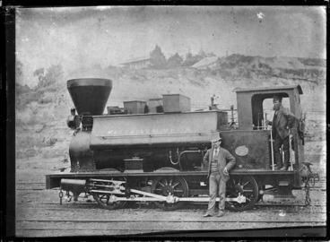 "Image: F Class steam locomotive NZR 248 ""McCallum Mhor"", 0-6-0T type."