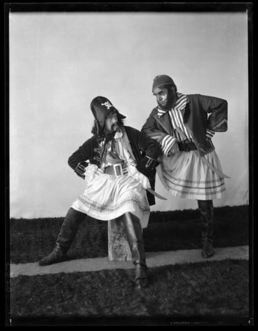 Image: Pirates, from a production of Pirates of Penzance - Photograph taken by Mark Luder Lampe