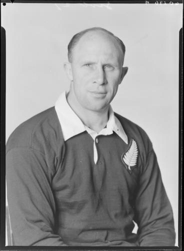 Image: Robert 'Bob' Wiliam Henry Scott, member of the All Blacks, New Zealand representative rugby union team