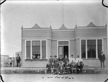 Image: Old Bowling Club at Petone