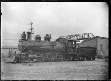 Image: N Class steam locomotive NZR 453, 2-6-2 type.