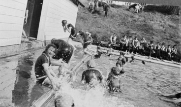 Image: Swimming sports at Iona College, Havelock North