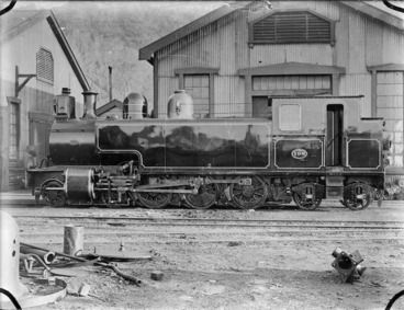 "Image: ""We"" class steam locomotive No 198 (4-6-4T type)."