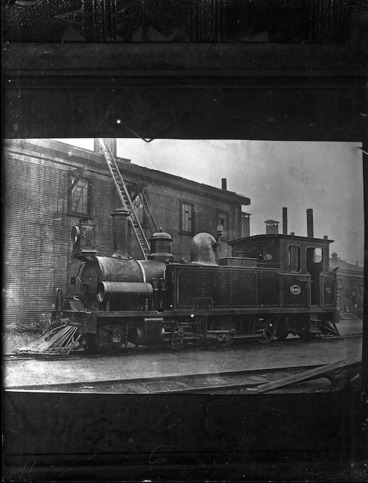 "Image: ""Wh"" class steam locomotive no. 448 (2-6-2T type)."