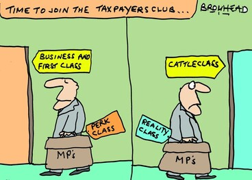Image: Time to join the Taxpayers club... 19 November 2010