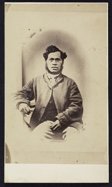 Image: Photographer unknown :Portrait of Reverend Rota Waitoa