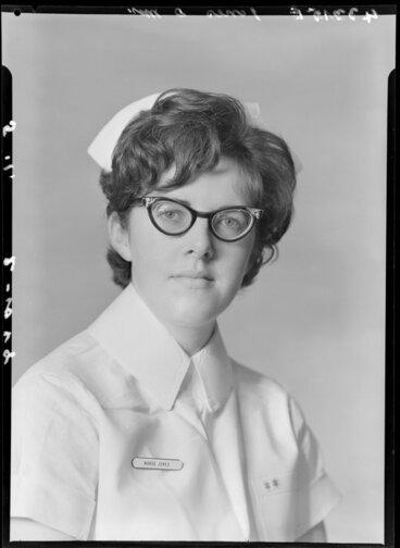 Image: Miss D Jones, nurse